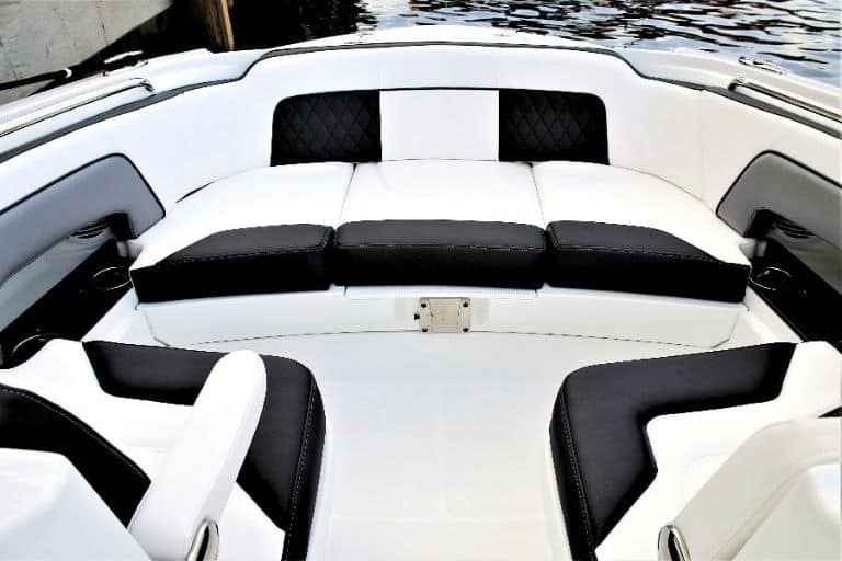 Monterey M-65 ample bow seating